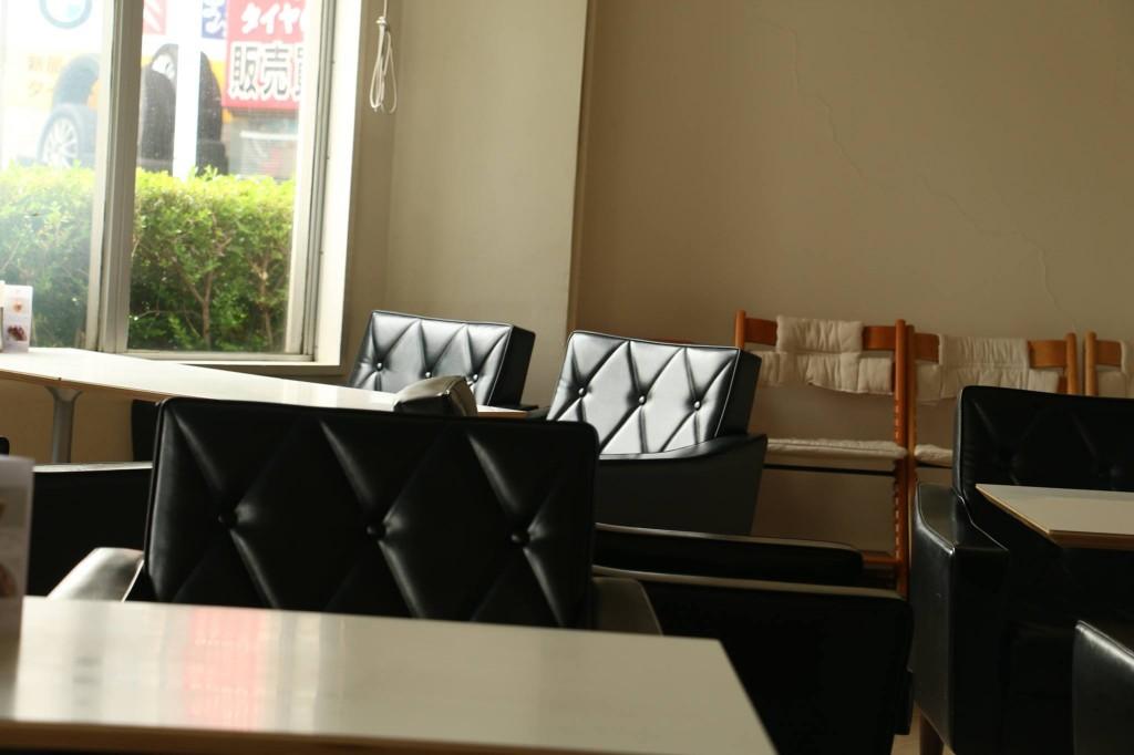 ベビーカーの置けるカフェ