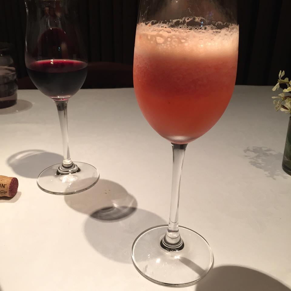 桜のカクテル