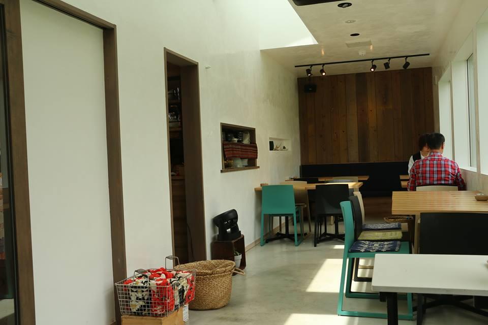 カフェ風の内装