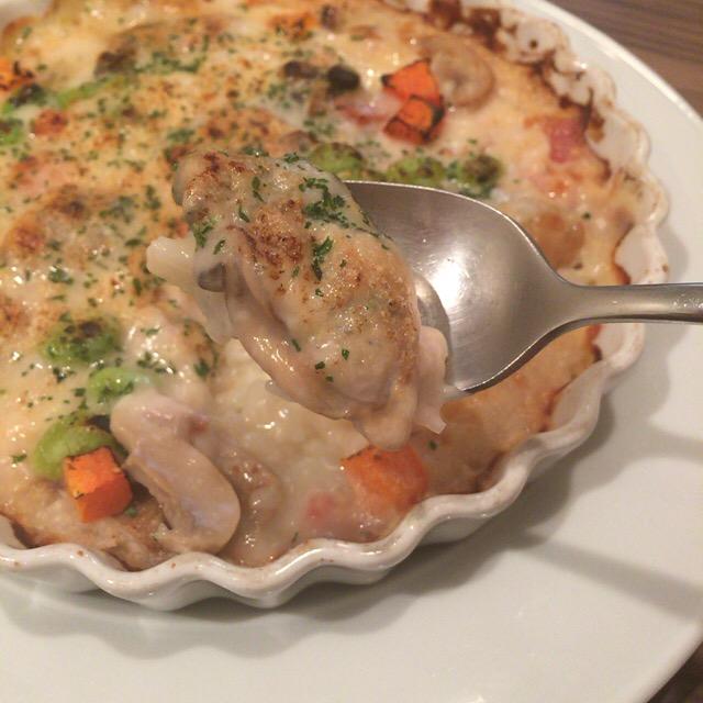 牡蠣ドリア