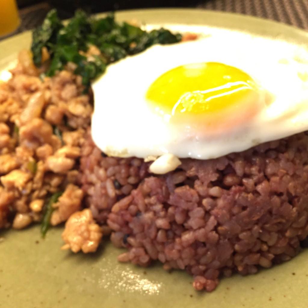 酵素玄米がランチで食べられる